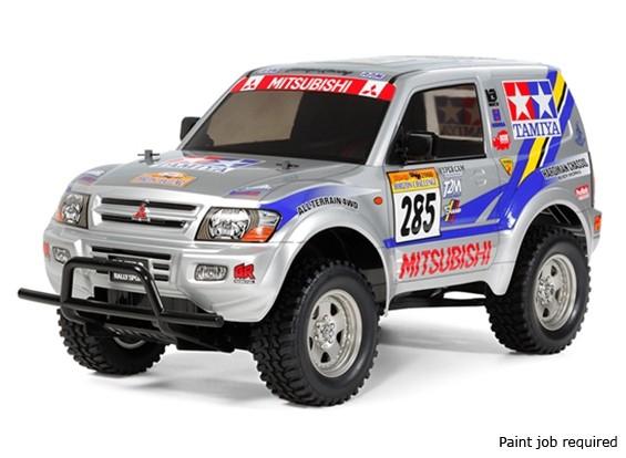 Tamiya 1/10 Escala Mitsubishi Pajero Rally Sport (CC-01 Chassis) 58602