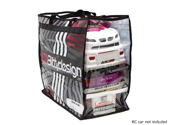 Bittydesign Carry Bag para 1/10 corpos de Turismo (190 - 200 mm)