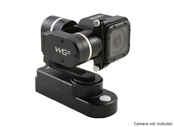 Feiyu tecnologia WGS 3 Axis Wearable Gimbal para GoPro Sessão Hero4