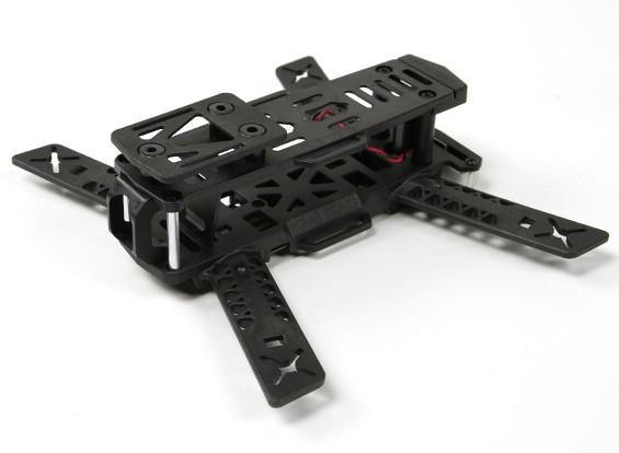 Kingkong 188 FPV Corrida Drone Frame (Kit) (Black)
