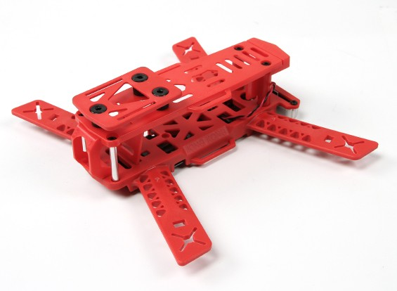 Kingkong 188 FPV Corrida Drone Frame (Kit) (vermelho)