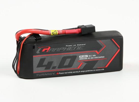 Turnigy Grafeno 4000mAh 4S 45C Lipo pacote w / XT90