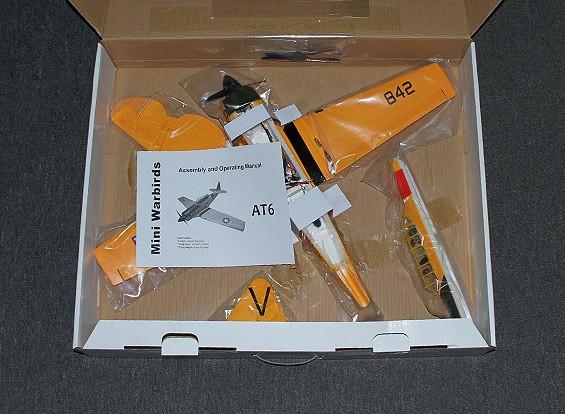 RISCO / DENT AT6 Funfighter - EPO 720 milímetros (P & P) incl. Alto-spec (3s ~ 4s) ESC