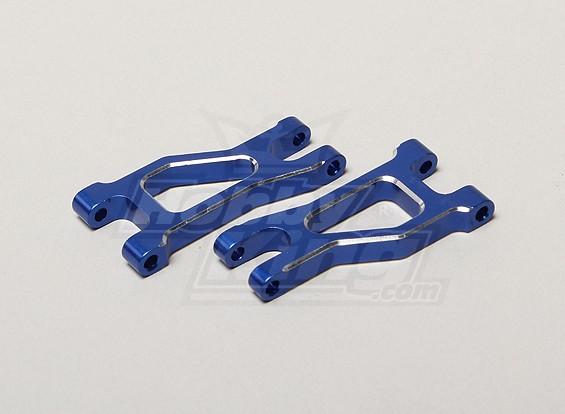 Suspensão de alumínio traseira Braço (Upper) - Turnigy TR-V7 1/16 Brushless Deriva Car w / carbono Chassis