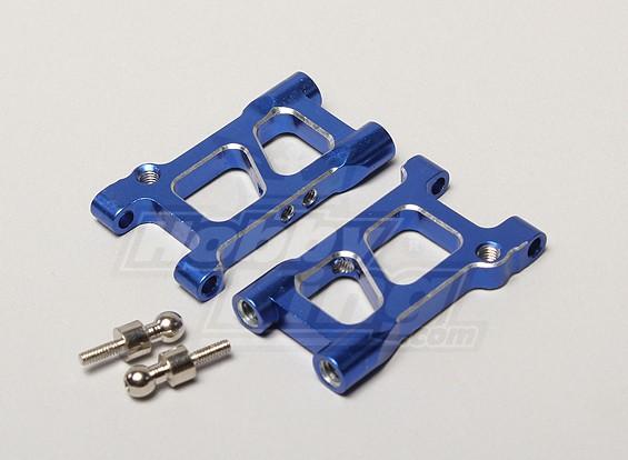 Suspensão de alumínio traseira Braço (Baixa) - Turnigy TR-V7 1/16 Brushless Deriva Car w / carbono Chassis