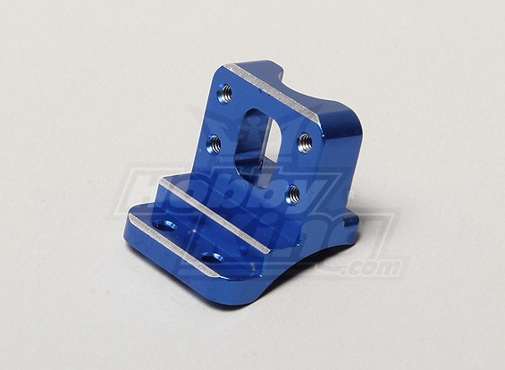 Aluminum Rear de choque Torre Holder - Turnigy TR-V7 1/16 Brushless Deriva Car w / carbono Chassis