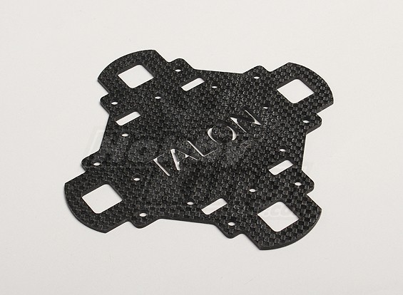 Turnigy Talon Carbon Fiber Main Frame placa superior (1pc / saco)