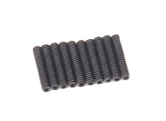 Metal Grub parafuso M2x10-10pcs / set