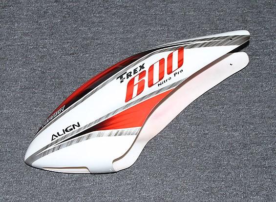 RISCO / DENT Turnigy High-End Fiberglass Canopy para Trex 600 Nitro
