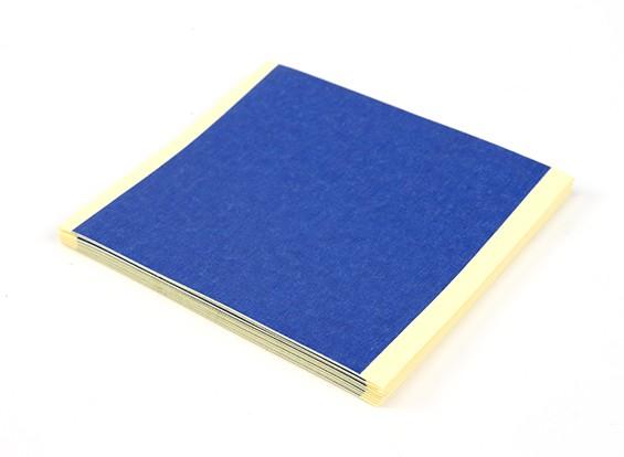 Turnigy azul 3D Printer Bed Sheets fita 85 x 85 milímetros (20pcs)
