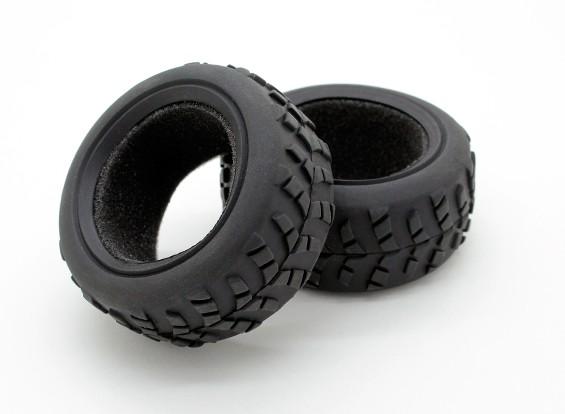 GPM Corrida Kyosho Mini Inferno F / R Radial Tire w / Insert (40g) (Offroad) (1PR)