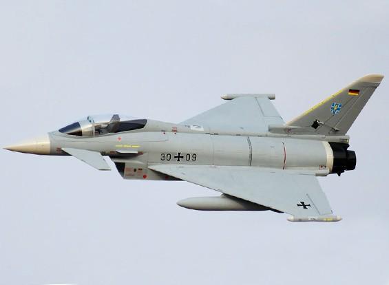 Eurofighter Typhoon V2 90 milímetros EDF 960 milímetros (P & P)
