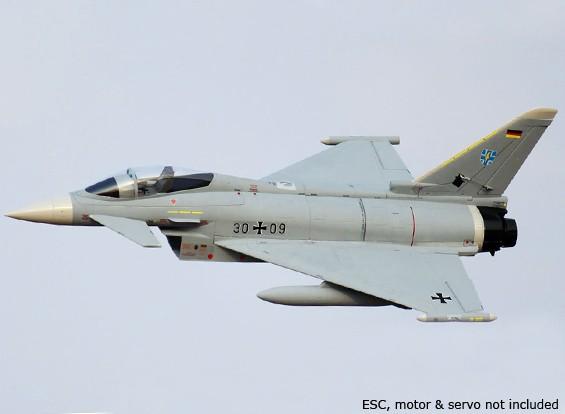 Eurofighter Typhoon V2 90 milímetros EDF 960 milímetros (ARF)