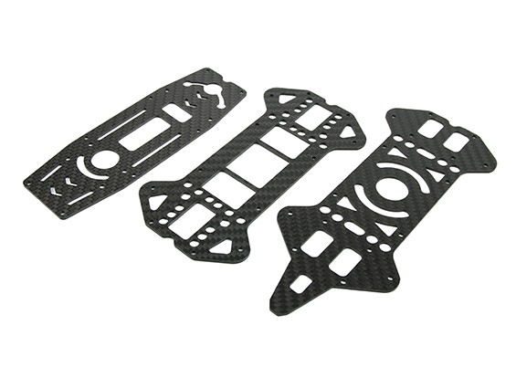 Jumper 218 Pro Superior e Inferior Decks (fibra de carbono) (3pcs)
