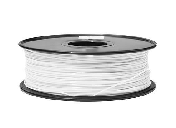 HobbyKing 3D Filament Printer 1,75 milímetros ABS 1KG Spool (branco)