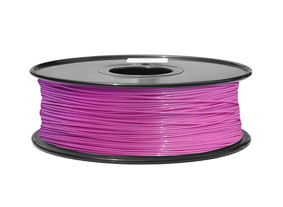 HobbyKing 3D Filament Printer 1,75 milímetros ABS 1KG Spool (rosa P.232C)