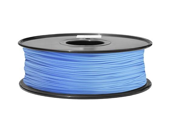 HobbyKing 3D Filament Printer 1,75 milímetros ABS 1KG Spool (azul P291C)