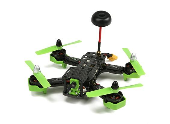 Diatone Tyrant 180 FPV Corrida Quad - Green (ARF)