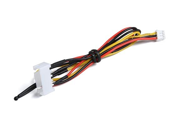 4Cell vôo Pacote de tensão e do sensor de temperatura para o sistema OrangeRx telemetria.