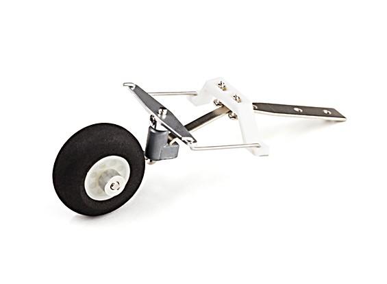 montagem de roda de cauda
