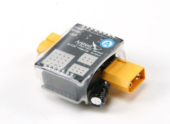 Arkbird Bateria Sensor de corrente com 12V regulador de saída