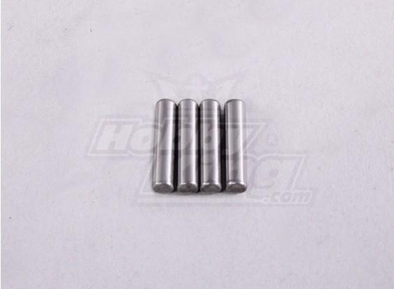 Pin 2,5 * 11,5 milímetros (4Pcs / Bag) - A2016T, A2038 e A3015