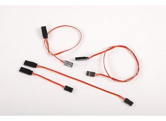 20CM Servo chumbo Ultra Light (JR) 32AWG
