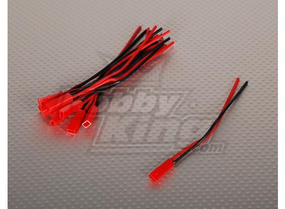 Homem JST bateria Pigtail 12 centímetros de comprimento (10pcs / saco)