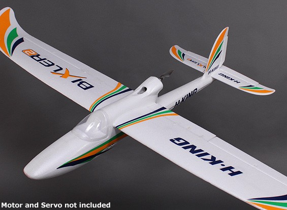 HobbyKing® Bixler® 2 EPO 1.500 milímetros w / Flaps opcionais (KIT)
