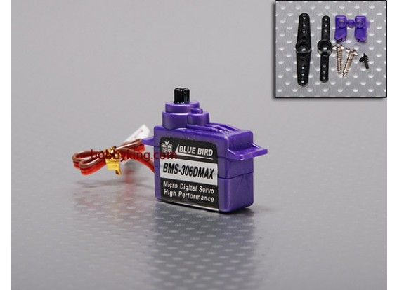 BMS-306DMAX Digital Micro Servo (Extra Forte) 1,6 kg / .13sec / 7,1 g
