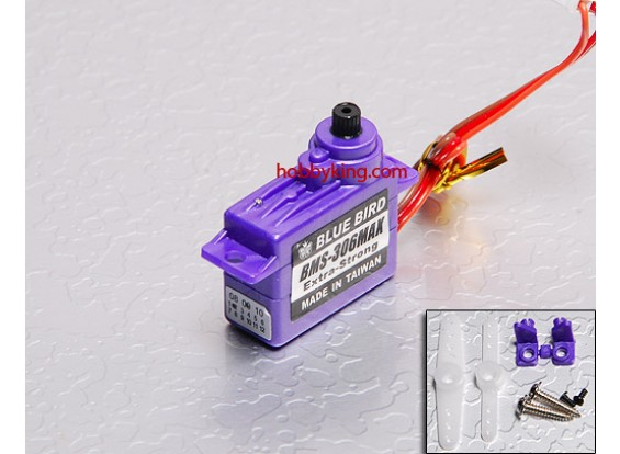 BMS-306MAX Micro Servo (Extra Forte) 1,6 kg / .13sec / 7,1 g