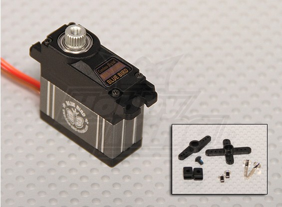 BMS-393DMH Servo High Performance 22,5 g Digital / 0,09 seg / 4.3 kgs