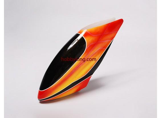 Fiberglass Canopy para Trex-600 Nitro