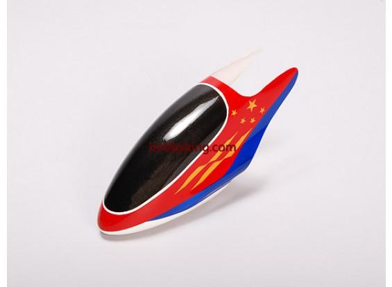 Fiberglass Canopy para Trex-450