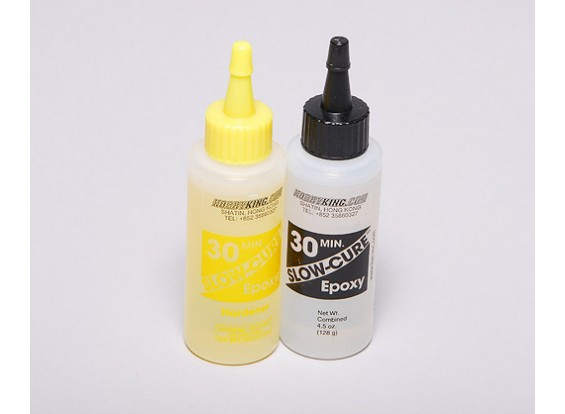 Slow-Cure 30 Min cola epóxi 4,5 oz