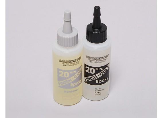 Concluir-Cure 20 Min cola epóxi 4,5 oz