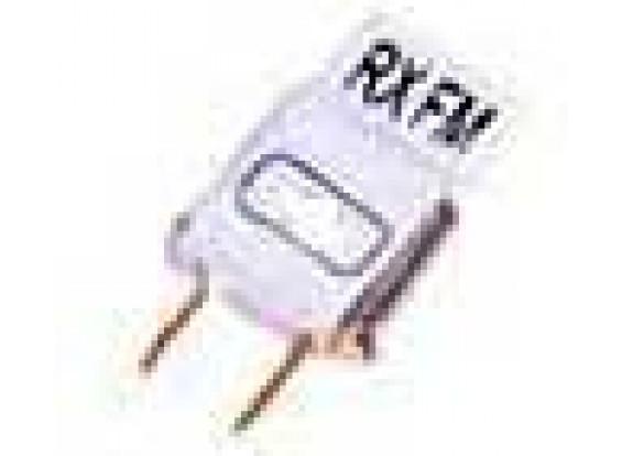 Única conversão Rx Cristal 35Mhz Ch80 (tamanho mini)