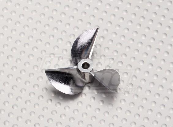 35 milímetros 3 Blade EP CNC Boat Prop (P1.7 D1 / 8x3)