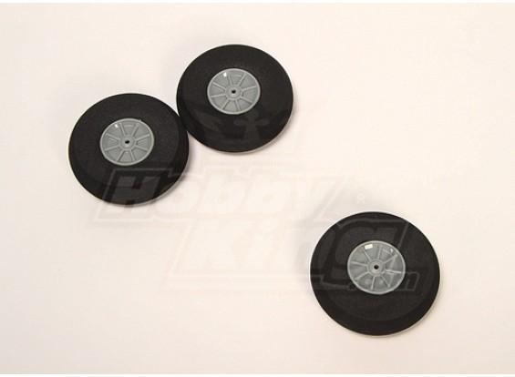 Esponja de rodas D75xH22 (3pcs / saco)