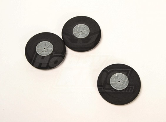 Esponja de rodas D80xH22 (3pcs / saco)