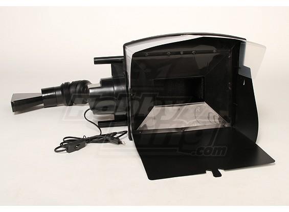 Cabine de pulverizador com filtro
