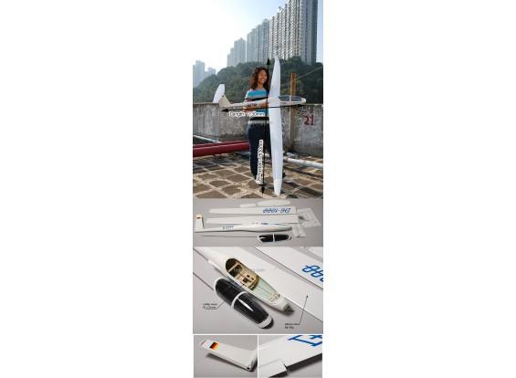 DG-1000 Fibra de vidro Glider elétrica 2.63M (102in) ARF