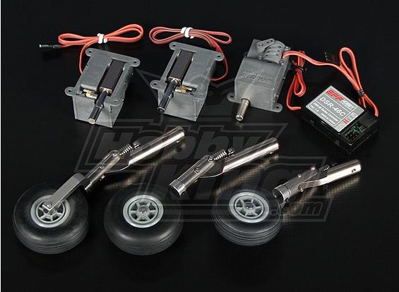 DSR-46TL elétrica Trike Retracção Set - modelos de até 3,6 kg