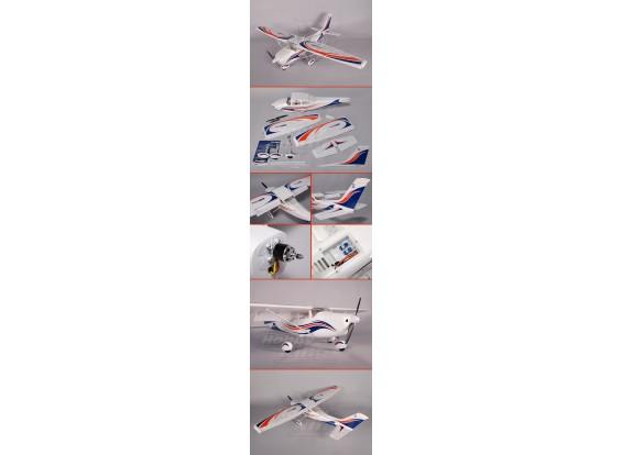 Durafly ™ 182 1,4 metros 5Ch (com abas) Plug-n-Fly