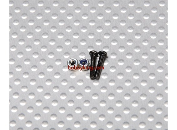 Cap Screw E6034 Deslick para o Firefox (2pcs / set)