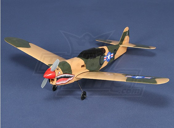 Micro P-40 Com Brushless