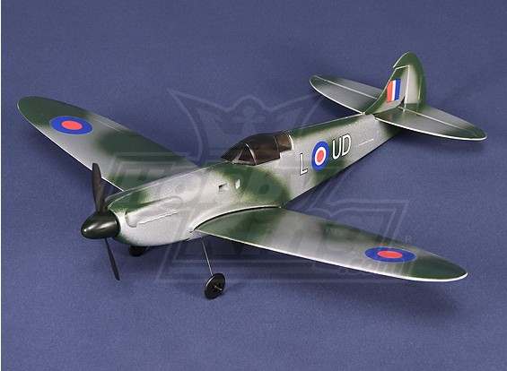 Micro Spitfire com Brushless