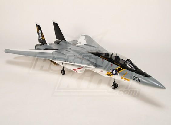 F-14 Folding asa Jet w / Kit gêmeo 60 milímetros EDF