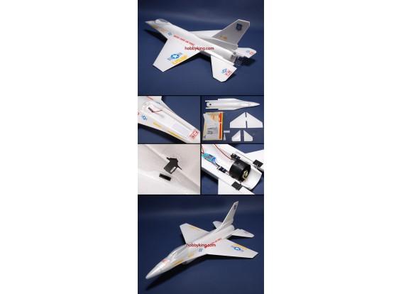 Avião de combate w / Brushless EDF ARF