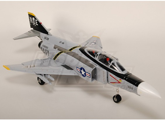 F4 lutador do fantasma II R / C Ducted Fan Jet Plug-n-Fly